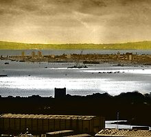 Portsmouth Harbour by dmacwill
