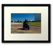 2011-10-02: Daniel's Honda CBR 6RR - Heading out to the track Framed Print