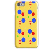 Circles and other shapes iPhone Case/Skin