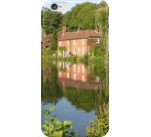 Cottages on Itchen Navigation, for iPhone iPhone Case/Skin