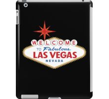 Welcome to Fabulous Las Vegas Sign iPad Case/Skin
