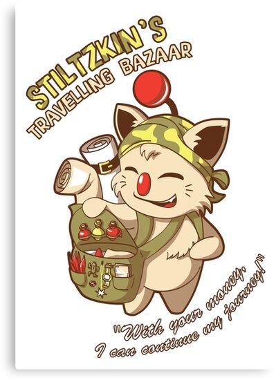 Stiltzkin's Travelling Bazaar by kinmoku