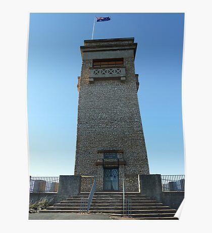 Rocky Hill War Memorial, Goulburn, NSW Poster