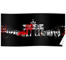 Berlin - Brandenburg Gate Poster