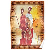 African Indaba - Ethnic series Poster