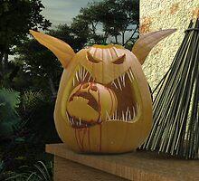 Pumpkin Food Chain by Syd Baker