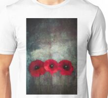 Red Poppies Unisex T-Shirt