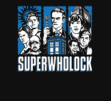 Superwholock - Official Fandom Zipped Hoodie