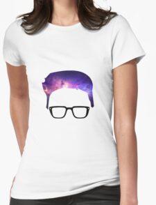 Tyler Oakley - Galaxy Hair Womens Fitted T-Shirt