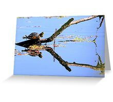 LOOK AT ME I CAN FLY YIPEE Greeting Card
