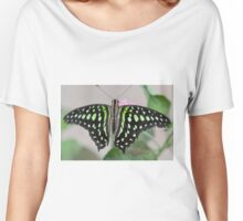 butterfly on the flower Women's Relaxed Fit T-Shirt