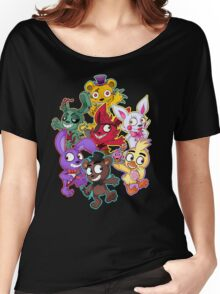 Five Nights at Freddys 1-4 Chibi Women's Relaxed Fit T-Shirt