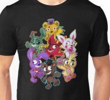 Five Nights at Freddys 1-4 Chibi Unisex T-Shirt