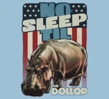 The Dollop - No Sleep Til Hippo (Clothing and Stickers) Kids Tee