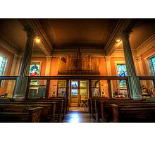 St. Mary's Catholic Church - Pipes Photographic Print