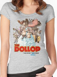 The Dollop - (T-Shirt) Women's Fitted Scoop T-Shirt
