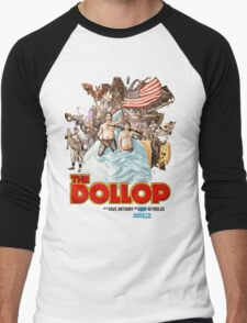 The Dollop - (T-Shirt) Men's Baseball ¾ T-Shirt