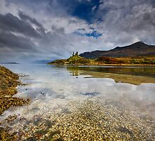 Isle of Skye : Castle Moil by Angie Latham