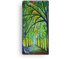 The forest is blossoming Canvas Print