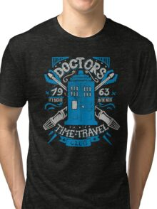 Doctors time travel club Tri-blend T-Shirt