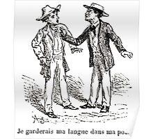 Achille Sirouy Mark Twain Les Aventures de Huck Huckleberry Finn illustration p237 Poster