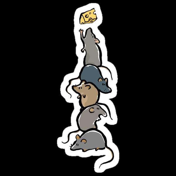 rat stack by greendeer