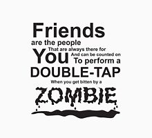 Friends and Zombies Unisex T-Shirt