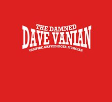 Dave Vanian Title and Description - In White T-Shirt