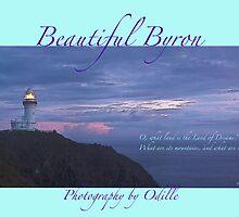 Cape Byron calendar cover art by Odille Esmonde-Morgan