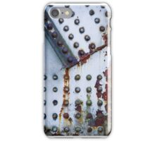 Steel bridge closeup iPhone Case/Skin