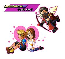Overdrive: Cupid Shot! Photographic Print