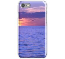 Sunset at Home 1 iPhone Case/Skin