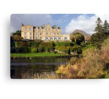 Ballynahinch Castle Hotel Connemara Co. Galway Ireland. Canvas Print