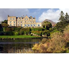 Ballynahinch Castle Hotel Connemara Co. Galway Ireland. Photographic Print