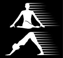Meditation and yoga energy  by Shawlin Mohd