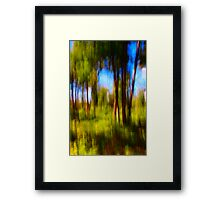 Memory of an August afternoon Framed Print