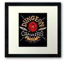 Dungeon Crawlers Club Framed Print