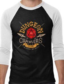 Dungeon Crawlers Club Men's Baseball ¾ T-Shirt