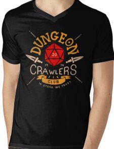 Dungeon Crawlers Club Mens V-Neck T-Shirt