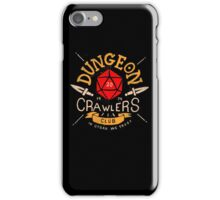 Dungeon Crawlers Club iPhone Case/Skin
