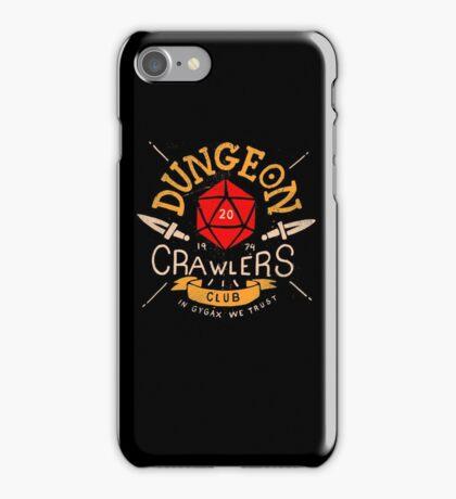 Dungeon Crawlers Club iPhone Case/Skin