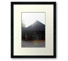 Tea House Framed Print