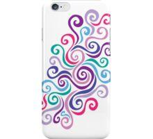 Swirlycules iPhone Case/Skin