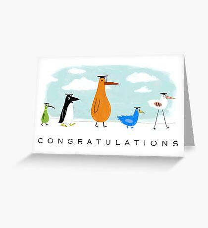 Graduation Congratulations Greeting Card