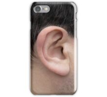 Male Right Ear iPhone Case/Skin