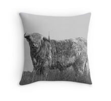 All Bull Cushion cover? Throw Pillow