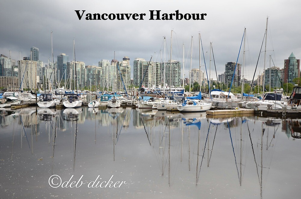 Vancouver Harbour, Vancouver BC, Canada by creativegenious