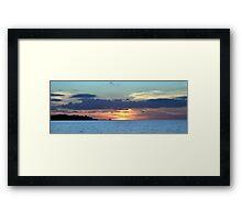 Sunset at Home 4 Framed Print
