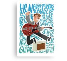 Guitar Heroes - Marty McFly  Metal Print