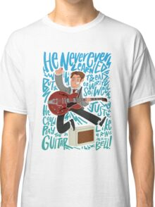 Guitar Heroes - Marty McFly  Classic T-Shirt